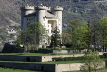 Photo of Cantiere evento al Castello di Aymavilles
